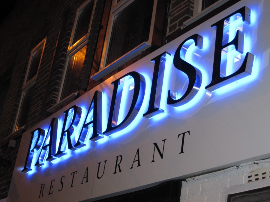 Restaurant signs, 3D signs, 3D letters, illuminted signs, built-up letters