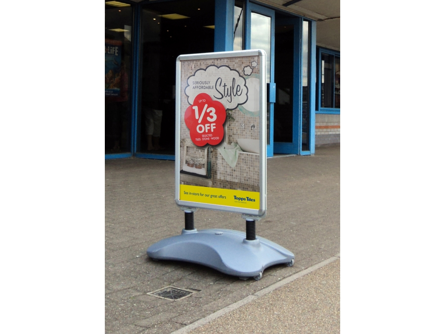 pavement signs, a-boards, advertising boards, advertising signs, poster signs