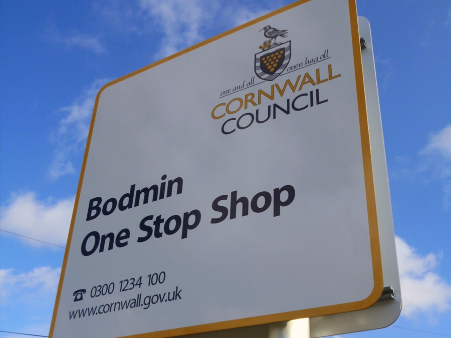 Local council signs