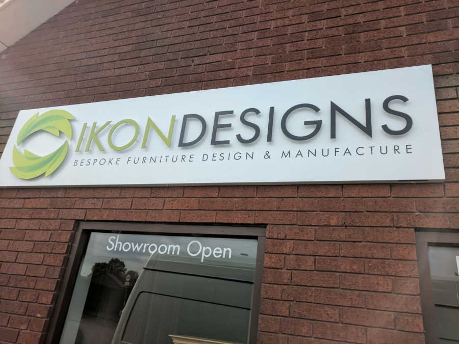 Ikon Designs Showroom Signs