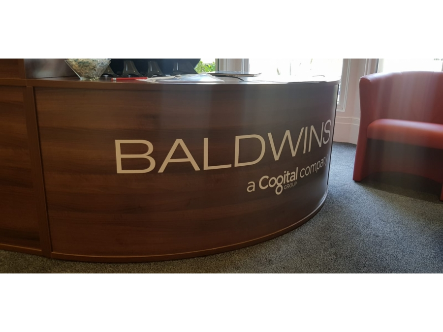 Bolton reception desk