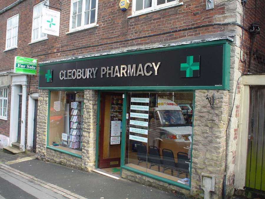 Pharmacy signs