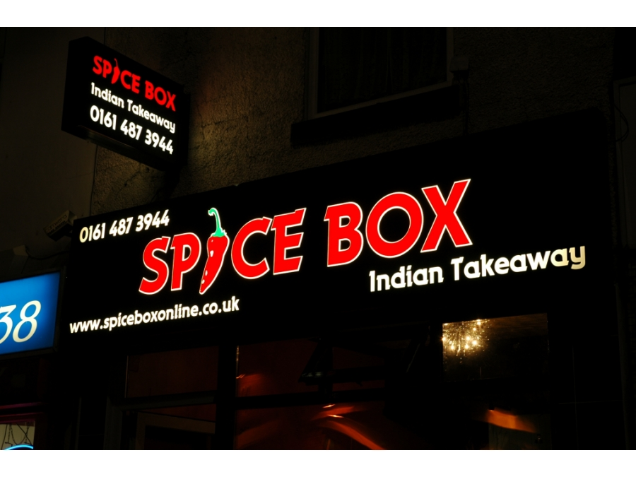 Takeaway-sign