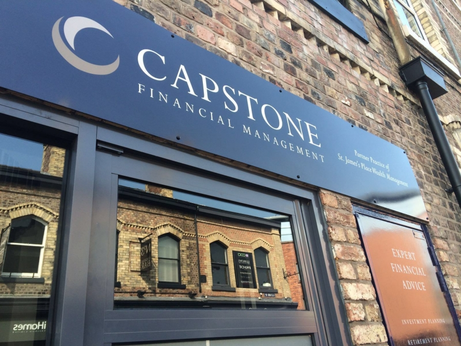 Capstone Financial Services Signs