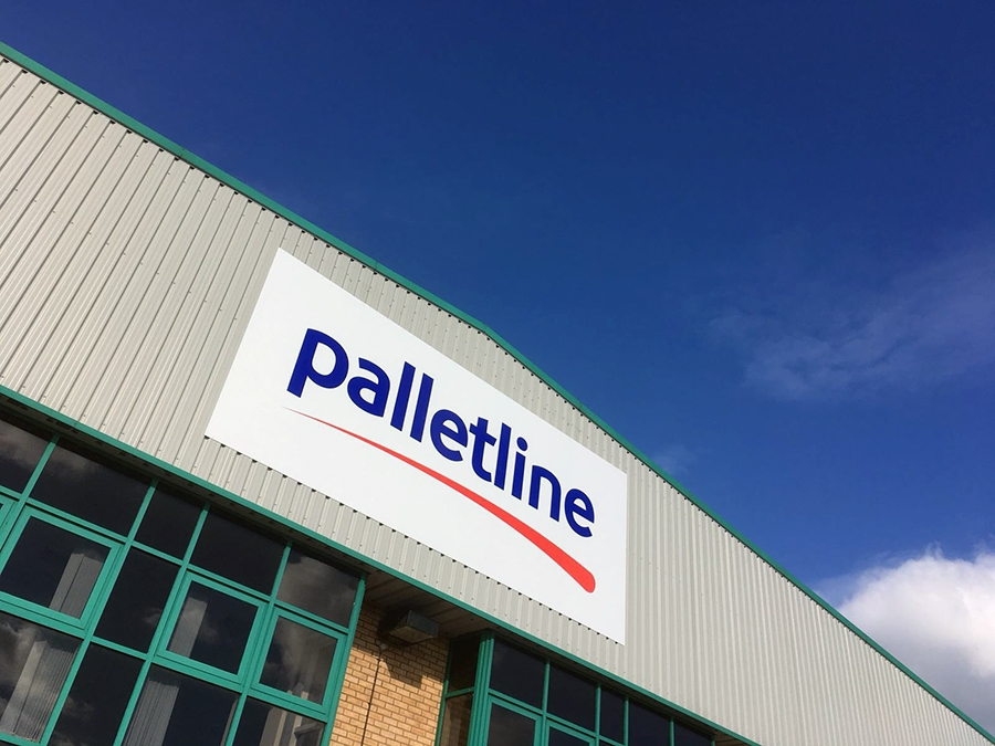 Palletline Sign