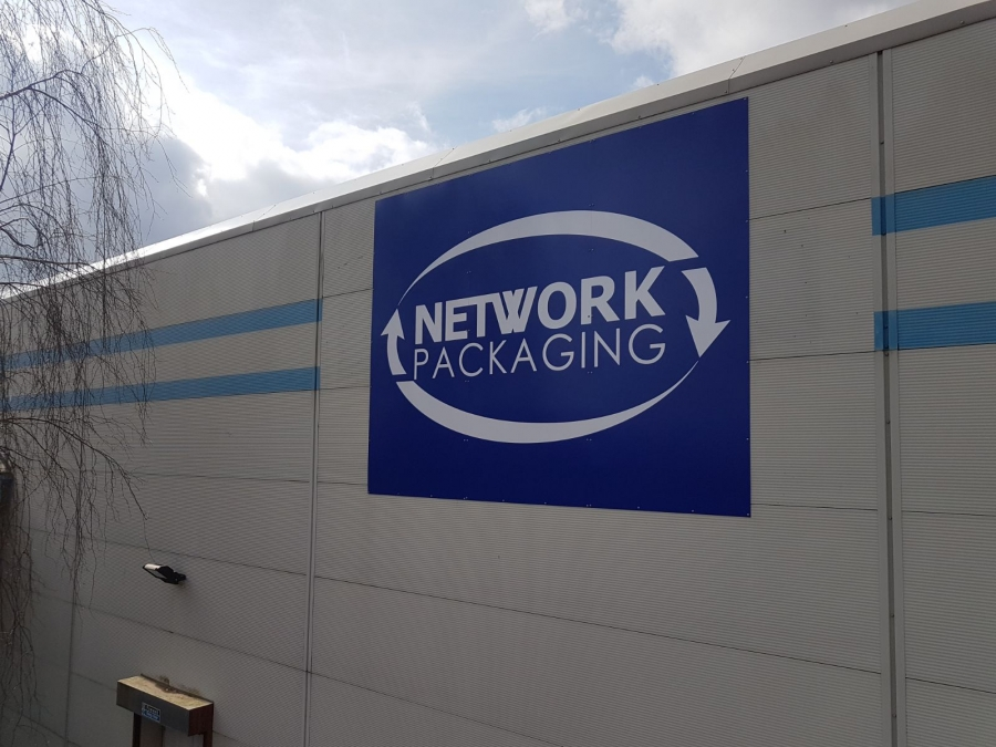 Network Packaging Manufacturing Signs