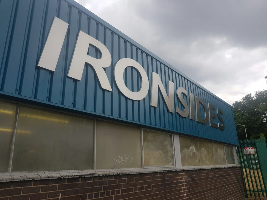 Ironsides Manufacturing Signs