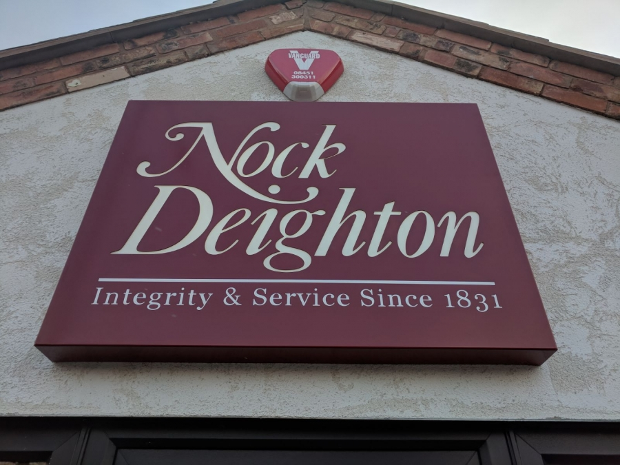 Nock Deighton Estate Agent Signs