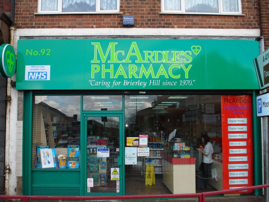 Signs For Pharmacies Signs Now Uk