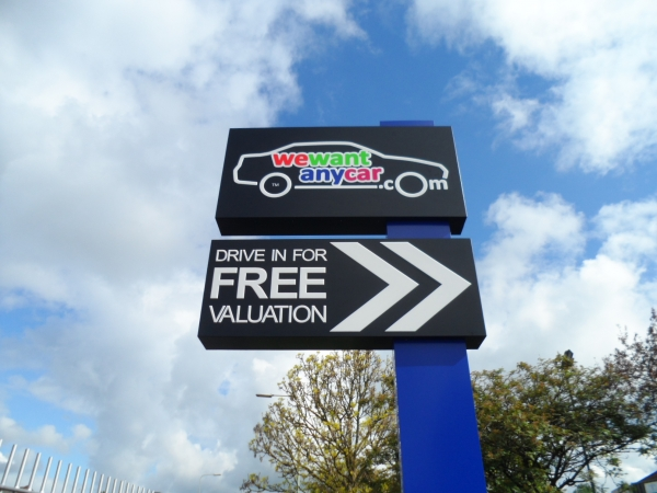 Retail Park Signs, Large Signs, Estate Signs