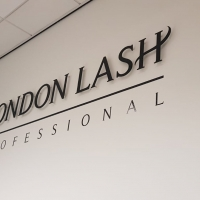 London Lash Hair and Beauty Sign