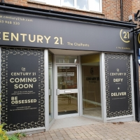 Century 21 Estate Agent Signs