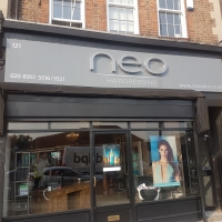 Neo Hair Salon Signs