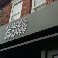 Davies Shaw Showroom Sign