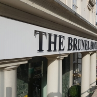 The Brunel Hotel Signs