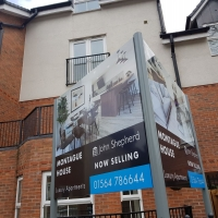 John Shepherd Estate Agent Signs